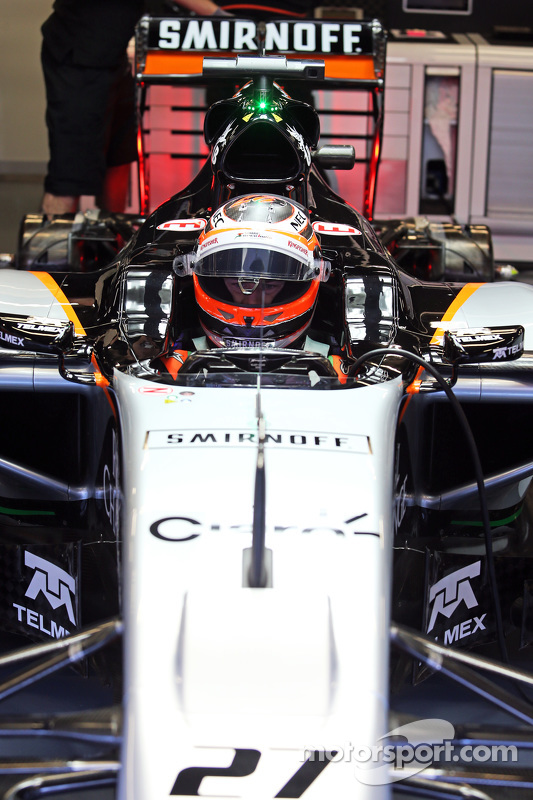 Nico Hülkenberg, Sahara Force India F1 VJM08