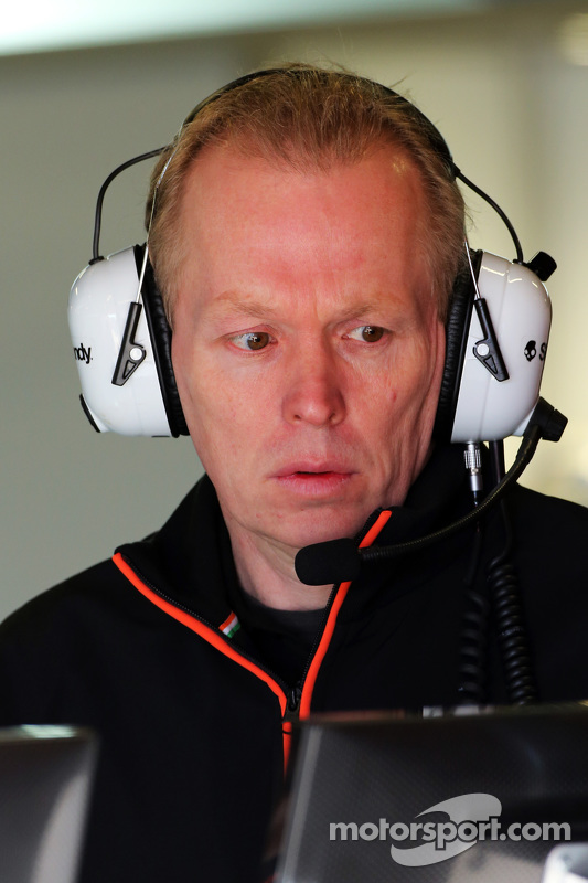 Andrew Green, Technischer Direktor Sahara Force India F1 Team