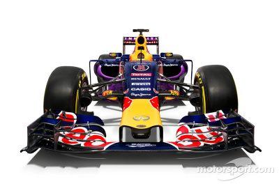 Red Bull mostra pintura 2015