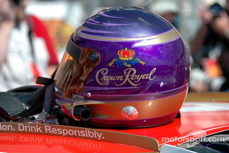 Helmet of Kurt Busch