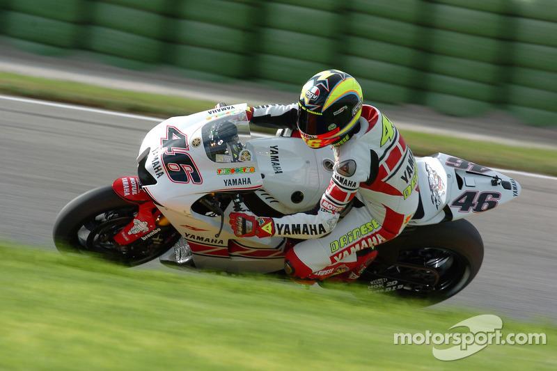Valencia 2005: Platz 3 mit Yamaha-Sonderdesign
