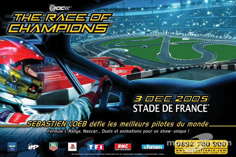 El primer cartel oficial de la Carrera de Campeones 2005