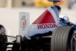 BAR Honda Bonneville 400 Geschwindigkeitsrekord zu Land