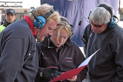 Howard-Boss Motorsports crew meeting