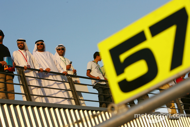 Ambiance at Dubai Autodrome