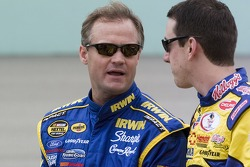 Kenny Wallace and Kyle Busch