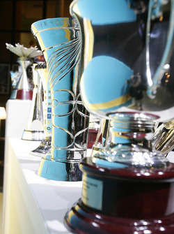 The 2005 trophies on display