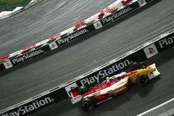 Demonstration of Sébastien Bourdais in his Newman-Haas Champ Car