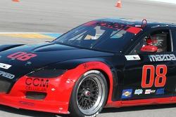 #08 Goldin Brothers Racing Mazda RX-8: Steve Goldin, Keith Goldin, Scott Finlay