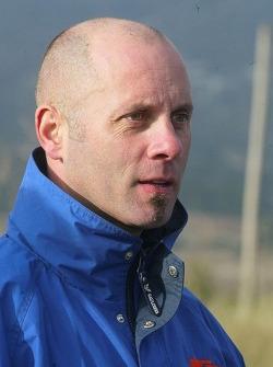 Team Gauloises KTM: team manager Éric Bernard
