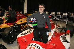 Dario Franchitti in the No. 27 Klein Tools Jim Beam Dallara Honda Firestone that he will drive in 2006