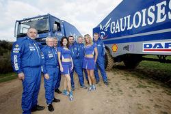 Team de Rooy: Jan de Rooy, Dany Colebunders, Robert van den Broek, Gerard de Rooy, Tom Colsoul and Arno Slaats