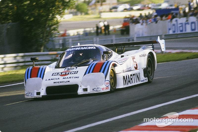 #5 Martini Lancia LC2-83/85: Henri Pescarolo, Mauro Baldi