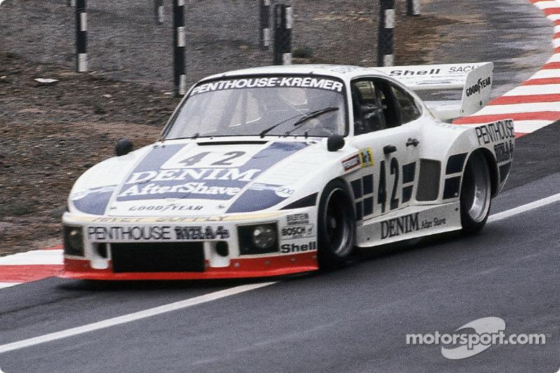 #42 Porsche Kremer Racing Porsche 935 K2: John Fitzpatrick, Guy Edwards, Nick Faure