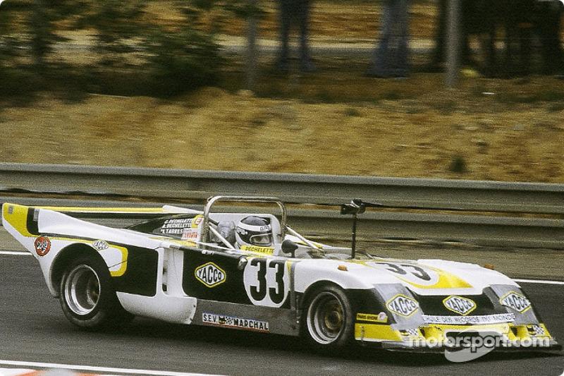 #33 Racing Organisation Corse Chevron B36 ROC: Marcel Tarras, Alain Dechelette, Charles Dechelette