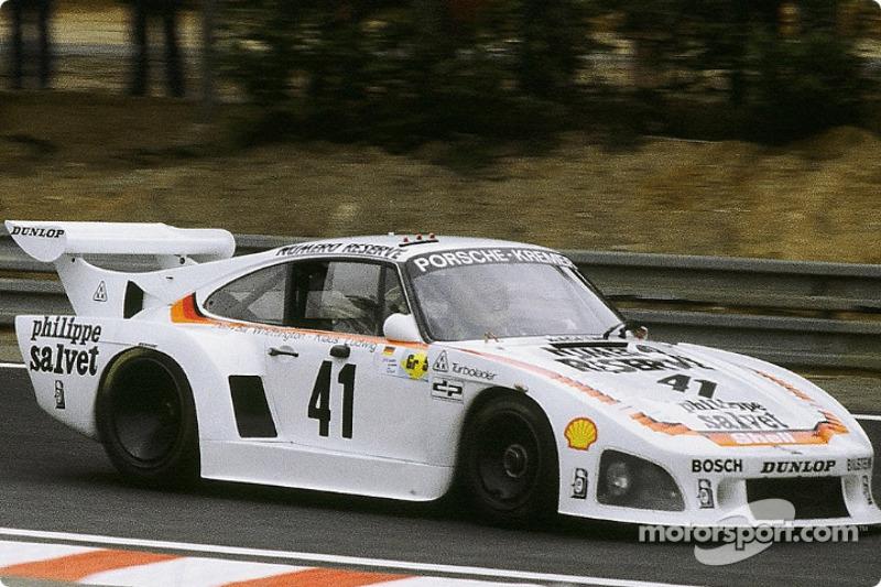 #41 Porsche Kremer Racing Porsche 935 K3: Klaus Ludwig, Don Whittington, Bill Whittington