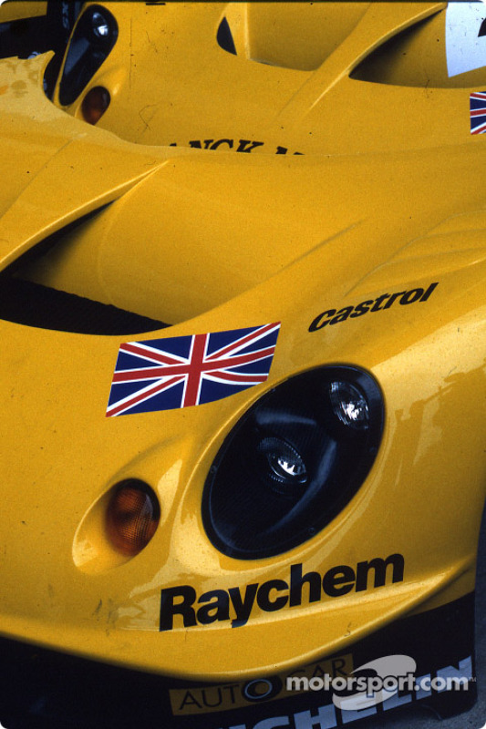 Detail of the Lotus Racing Lotus Elise GT1