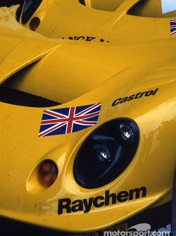 Detail of the Lotus Racing Lotus Elise GT1