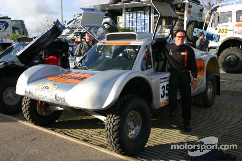Ronn Bailey avec la Vanguard Racing Rally Car de 2006
