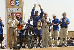 Bike category podium: David Casteu
