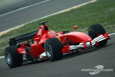 Ferrari Mugello private testing