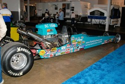 Bob Kodadek's Super Comp dragster, powered by a 502 big block Chevy