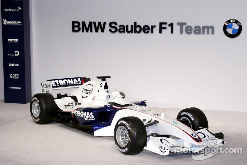 2006: BMW Sauber F1.06