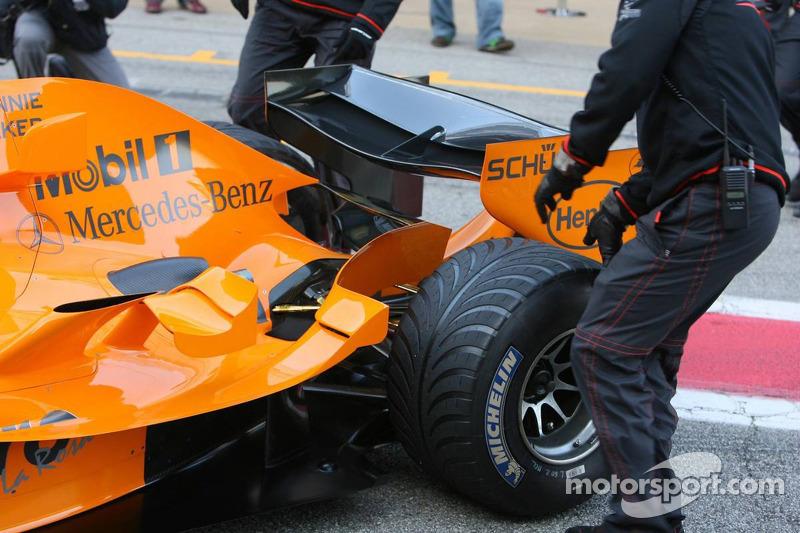 McLaren MP4-21, Detailaufnahme
