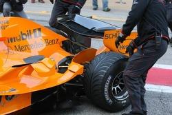 Details of the McLaren MP4-21
