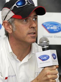 Press conference: Rinaldo Capello answers questions