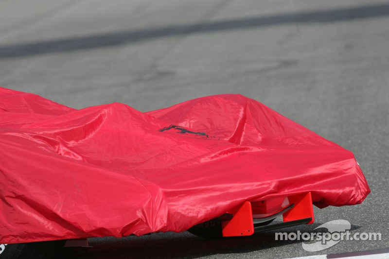 The Ferrari 248 F1 about the be unveiled