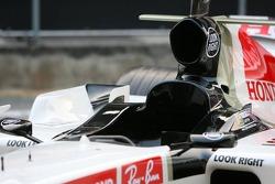 detay, yeni Honda Racing RA106