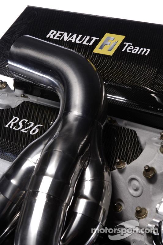 雷诺R26的V8引擎