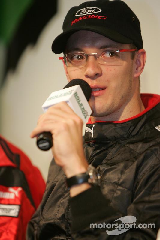 Les pilotes de Champ Car en conférence de presse: Sébastien Bourdais