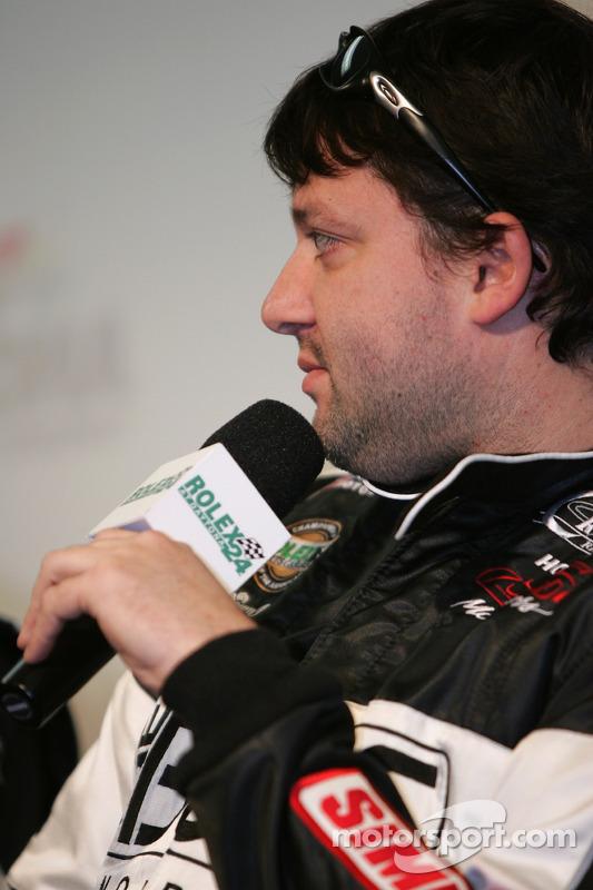 Conférence de presse de l'équipe Howard-Boss Motorsports: Tony Stewart