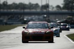 #63 Team Spencer Motorsports Mazda RX-8: Dennis Spencer, Scott Spencer, Roger Mandeville, Rich Grupp, Gary Drummond