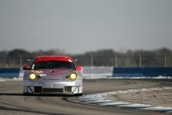 #44 Flying Lizard Motorsports Porsche 911 GT3 RSR: Lonnie Pechnik, Seth Neiman, Darren Law