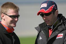 Jeff Burton and Greg Biffle