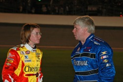 Erin Crocker and Bobby Hamilton