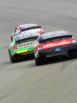 Carl Edwards and J.J. Yeley