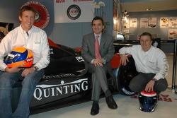 Swiss Spirit team launch: Harold Primat, Serge Saulnier and Marcel Fassler