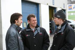 Heinz-Harald Frentzen, Tom Kristensen et Mattias Ekström
