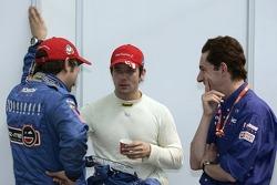 Daniel Elena, Sébastien Loeb and Marc Van Dalen