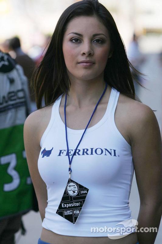 Une jolie jeune femme de Ferrioni