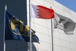 Flags at Bahrain International Circuit