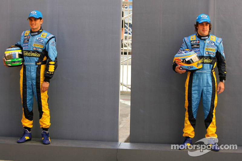 2005 и 2006 годы: Джанкарло Физикелла, Renault