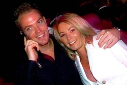 Robert Doornbos with his sister and personal assistant Madelon