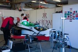 Garage de l'équipe Lebanon