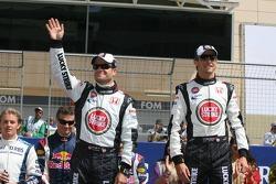 Drivers presentation: Rubens Barrichello and Jenson Button