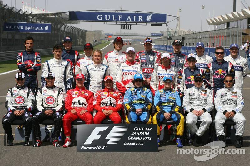 2006 Formula 1 sezonu pilotları